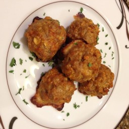 21 Day Fix Extreme Turkey Meatballs