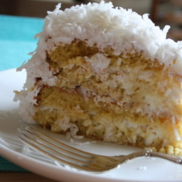 3 Day Coconut Sour Cream Cake