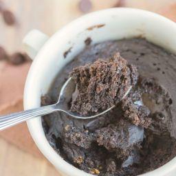 3 Ingredient 1 Minute Flourless Chocolate Cake