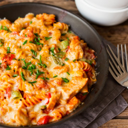30 Minute One Pot Chicken and Pasta