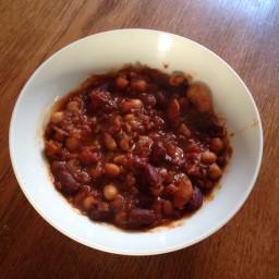 4 bean chilli
