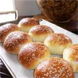 40-Min Hamburger Buns