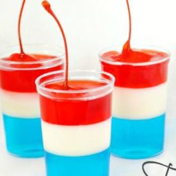 4th of July Jello Firecracker Shots