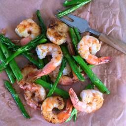 5 Minutes Skillet Shrimp