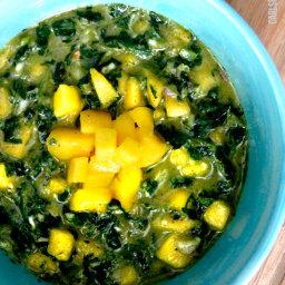 5 Minute Mango Honey Jalapeno Chimichurri