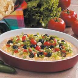 7 Layer Mexican Fiesta dip