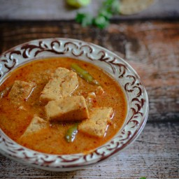 Achari Paneer / Paneer cooked with Pickling Spices