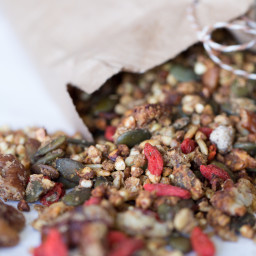 Activated Buckwheat Granola