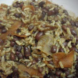 Adzuki Beans with Brown Rice