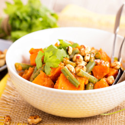 African Sweet Potato & Peanut Stew