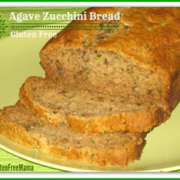 Agave Zucchini Bread-Gluten Free-Dairy Free