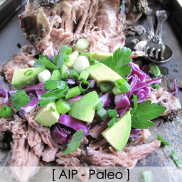 AIP / Paleo Sage Pulled Pork - Slow Cooker Recipe