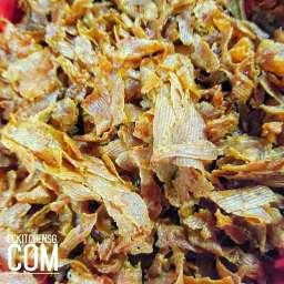 Air Fried Luncheon Meat Crisp