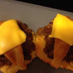 All-American Cheeseburger Ring