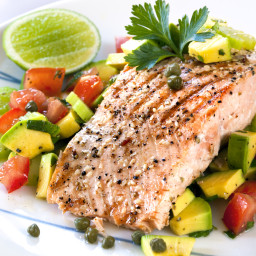 Allison's Biggest Loser Winner Grilled Citrus Salmon