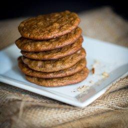 Almond Butter Banana Cookies
