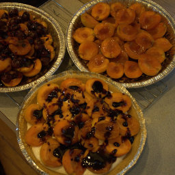 Almond Chocolate Fruit Tart
