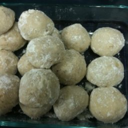 Almond Coffee Snow Balls