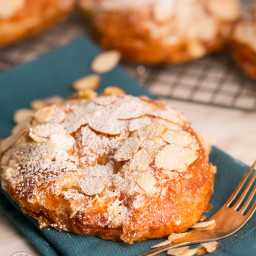 Almond Croissants Recipe (French Bakery Style)