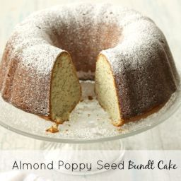 Almond Poppy Seed Bundt Cake Recipe