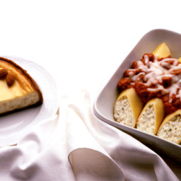 Almond Ricotta Cheesecake