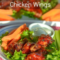 Aloha Barbecue Chicken Wings