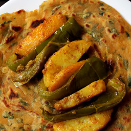 aloo capsicum recipe | aloo shimla mirch recipe