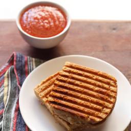 aloo masala grilled sandwich recipe