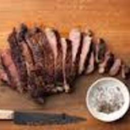 Alton Brown's Pan-Seared Rib-Eye