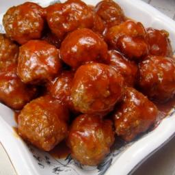 Food.com's Always Perfect Sweet and Sour Meatballs