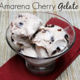 Amarena Cherry Gelato Recipe