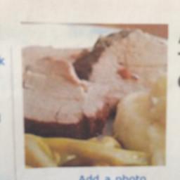 Amazing Slow Cooker Pork Tenderloin