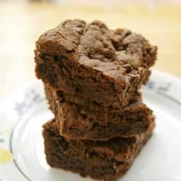 Amazingly decadent chocolate chip brownies