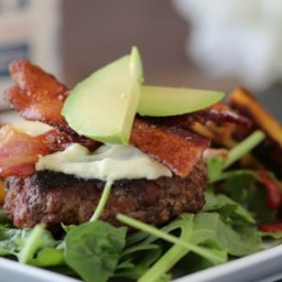 A Meal Made For Leftovers: Quick Loaded Chorizo Burgers with Pan Fried Swee