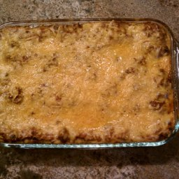 Amy's Spicy Taco Lasagna