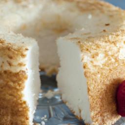 Angel Food Cake - Homemade