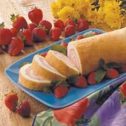 Angel Food Cake Roll Recipe