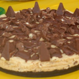 Ang's No Bake Toblerone Cheesecake