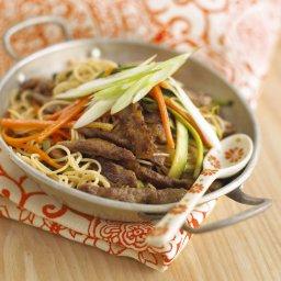 Annabel Karmel's Stir-Fried Beef With Noodles