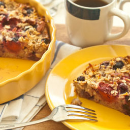 Apple-Berry Baked Oatmeal