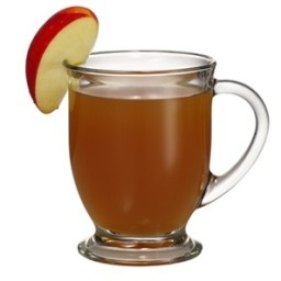 Apple cider with rum