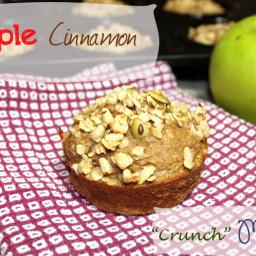 Apple Cinnamon Crunch Muffins