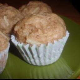 Apple Cinnamon Muffins (eggless)