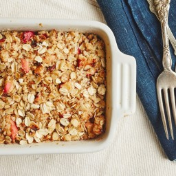 Apple Crisp with Spiced Pecans