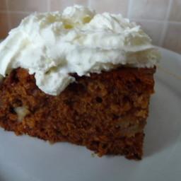 Apple 'dump' Cake - No Cake Mix Needed!