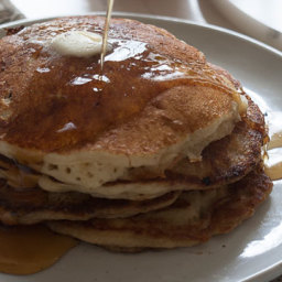 Apple Ginger Pancakes