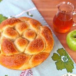 Apple Honey Challah