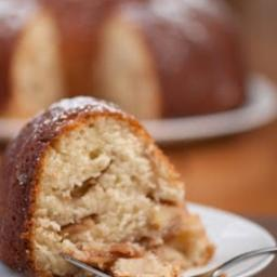 Apple Peach Bundt Cake