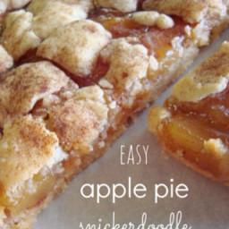 Apple Pie Sinckerdoodle Cookie Bars