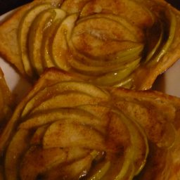 Apple Puff Pastry Tartlets
